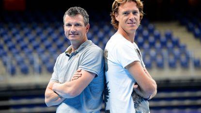 """Ex-profs, nu allebei toernooidirecteur: Krajicek & Norman: """"Jouw toernooi is mijn natte droom, Richard"""""""