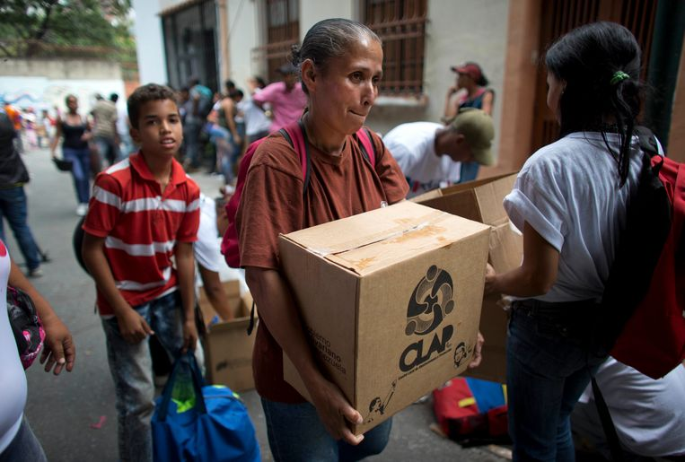Waarom kiest Venezuela weer voor Maduro? Beeld AP / Ariana Cubillos