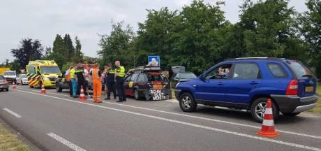 Gewonde bij kettingbotsing vlakbij terrein Zwarte Cross