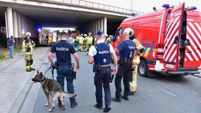 Wagen duikt van snelwegbrug in Deerlijk: bestuurder kritiek