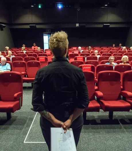 Chassé Cinema weer van start: niemand wil vooraan zitten