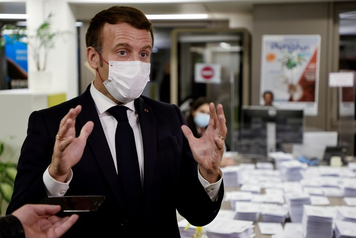 President Macron.
