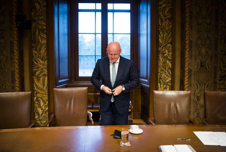 Ferdinand Grapperhaus gaat drugscriminaliteit aanpakken. Beeld ANP