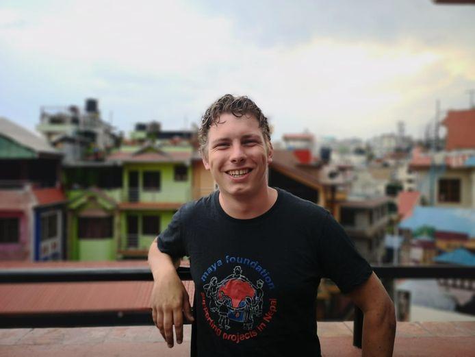 Rens Pierik in Nepal.