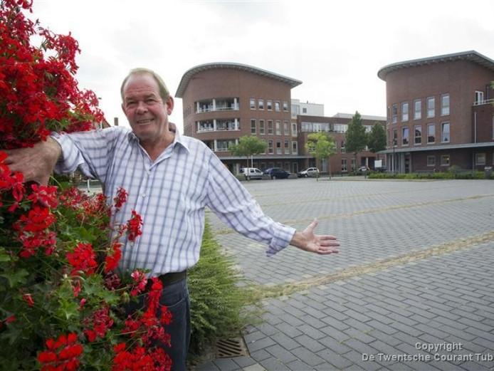 Marktmeester Peter Reinders wil dat de wekelijkse Pathmosmarkt een groot succes wordt