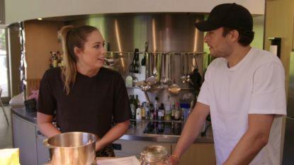 """Marie Verhulst wil haar broer niet in de keuken tijdens 'Bake Off': """"Viktor, jij komt toch niét helpen, he?"""""""