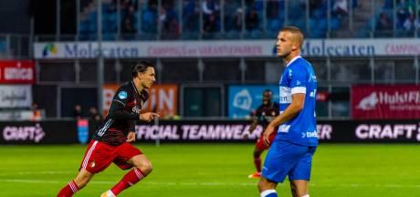 Zeven maanden na spektakelstuk doet Feyenoorder Berghuis PEC alweer pijn in Zwolle
