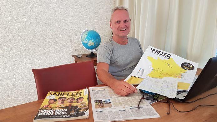 """Gerard Willemsen (foto) was volgens zoon Frank dagen bezig met het invullen van zijn ploeg voor de Lezerstour. """"Daar begin ik niet aan."""""""