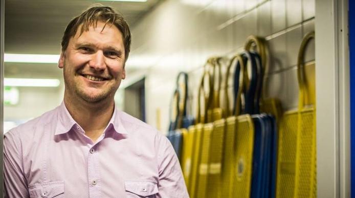 Kenny Verhoene heeft het prima naar zijn zin in Duitsland. Sinds april is hij Sportdirektor van Carl Zeiss Jena. foto FC Carl Zeiss Jena