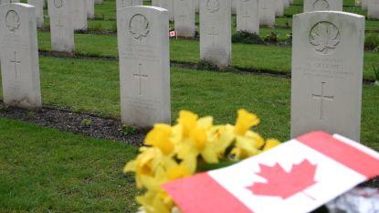 Allerzielen: plechtigheid op Canadese begraafplaats in Adegem