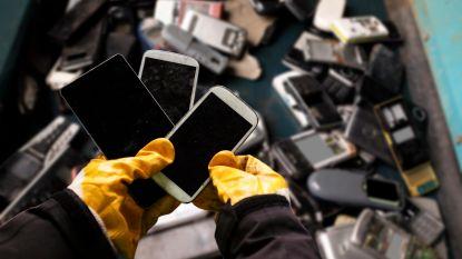 Belgen recycleerden vorig jaar meer dan 38 miljoen elektrotoestellen