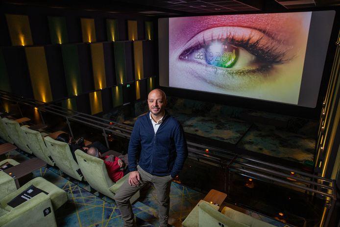 Joop Hamers, marketingmanager van Cinema Roma in Wijchen.