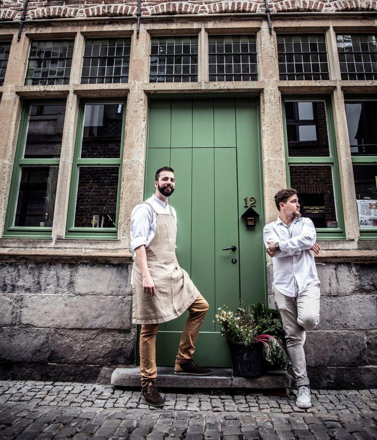 Sebastian Sandor en Fabio Cammalleri willen topgastronomie aanbieden in hun nieuwe restaurant Heritage.