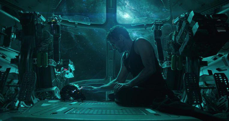 De nog levende Avengers reizen naar het verleden om genocide van Thanos ongedaan te maken. Beeld Marvel-Studios-2019