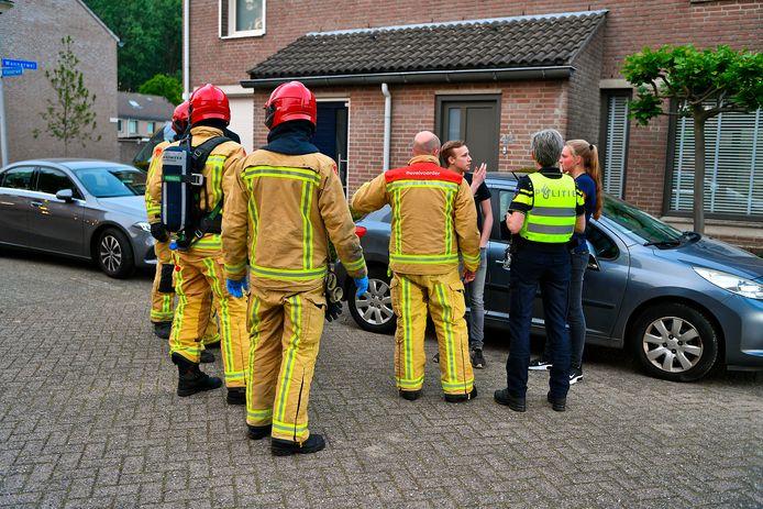 Hulpdiensten kwamen massaal op de melding af in Dommelen.