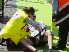 Hardlopers onwel door hitte in Antwerpen