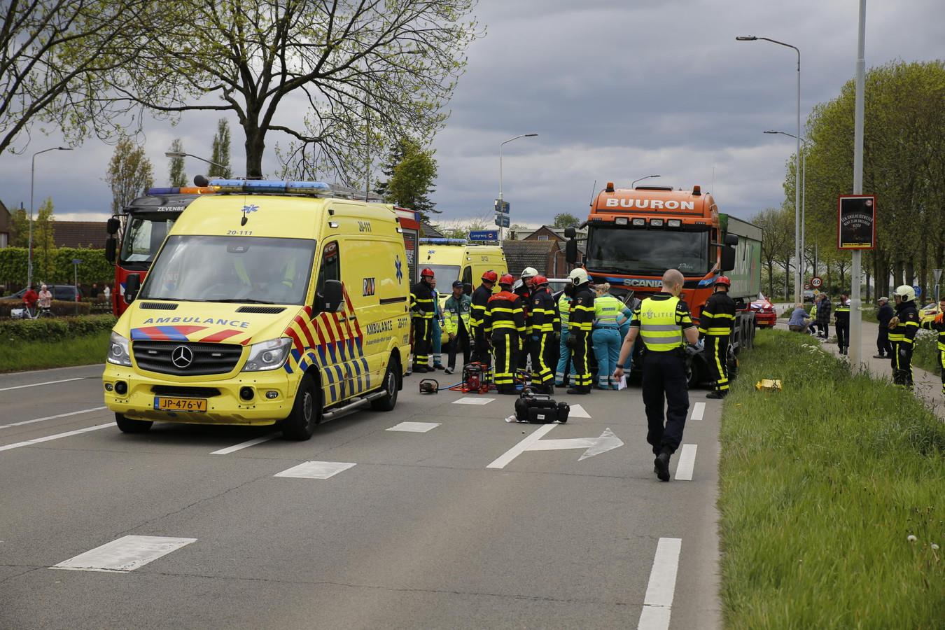 Ongeval Langeweg.