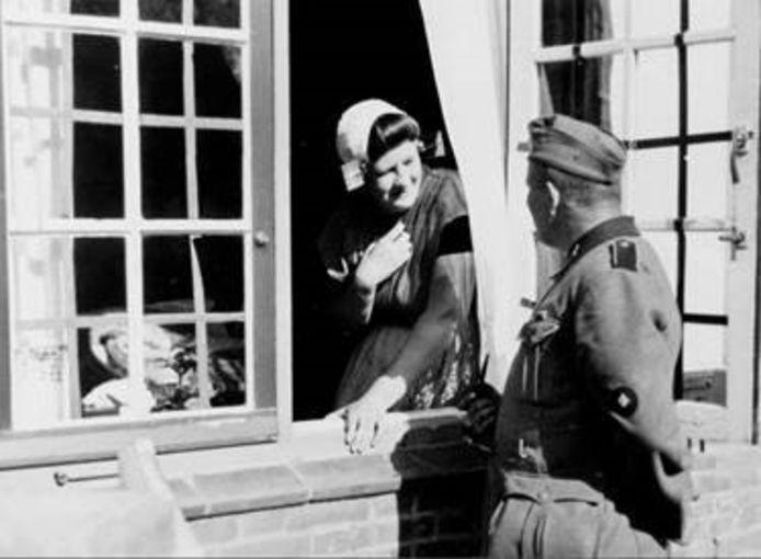 Eén van de foto's uit de collectie van 'De Tweede Wereldoorlog in 50 foto's'.