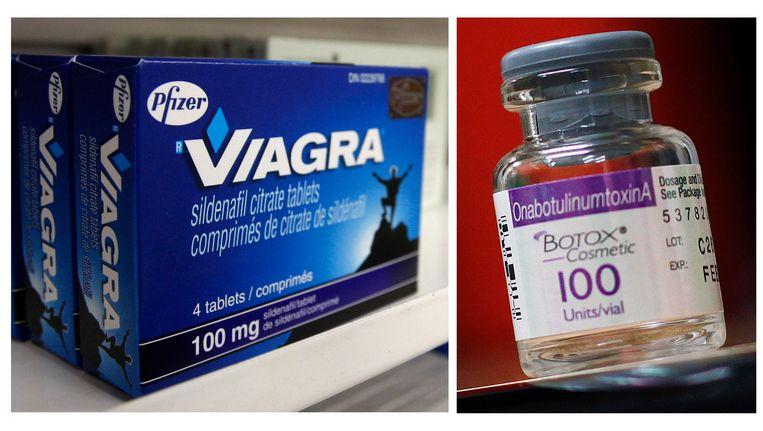 Pfizer is onder meer de producent van Viagra. Allergan is vooral bekend omwille van de Botox-productie.