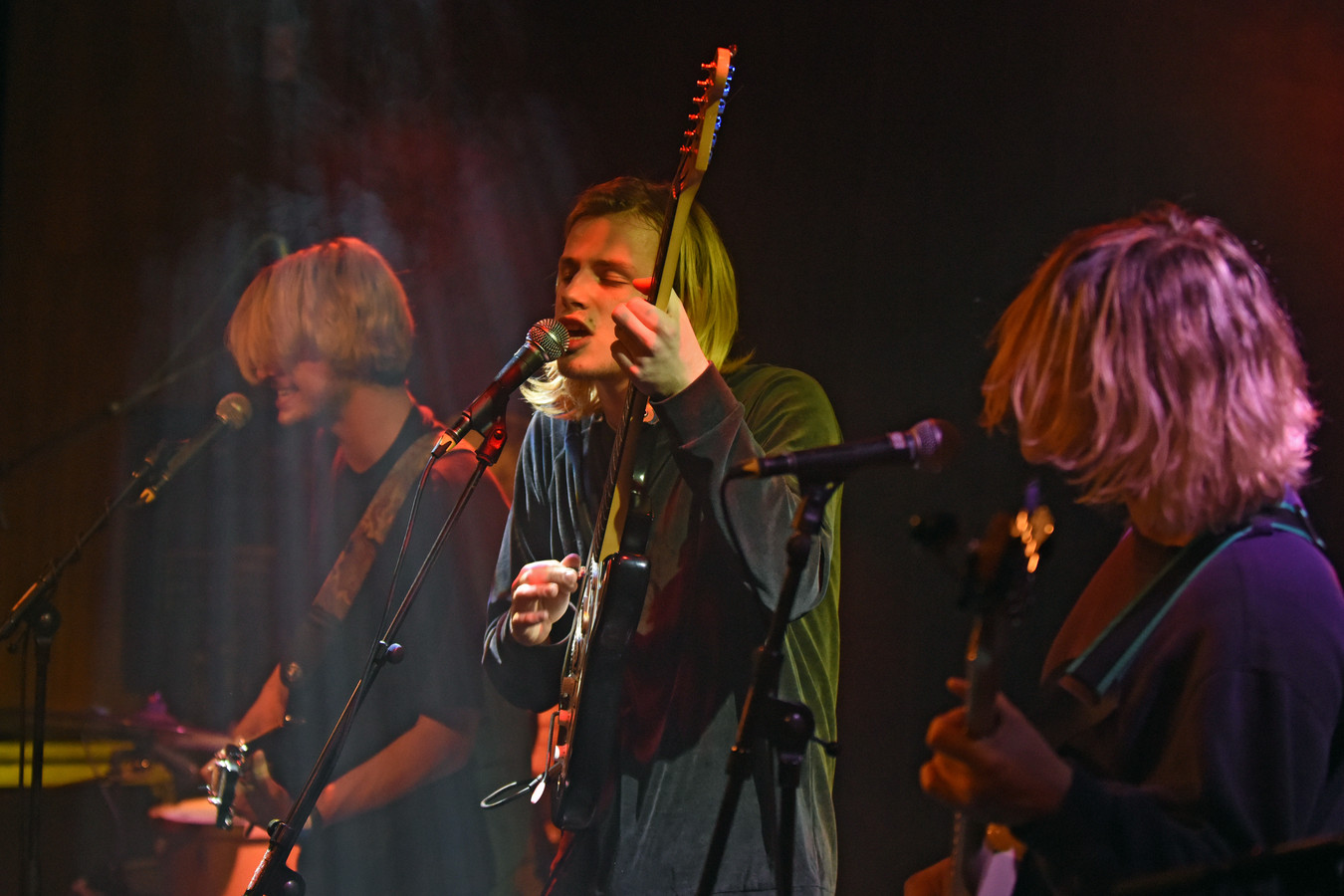 Danny Blue and the Old Socks openden vorige de tiende editie van het festival 'Ik Zie U Graag' in Mezz.