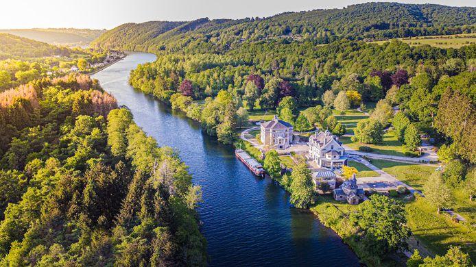 Les Sorbiers se trouve au cœur de 17 hectares de nature.