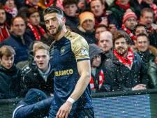 KV Kortrijk moet 3000 euro betalen na bierdouche voor Wesley Hoedt