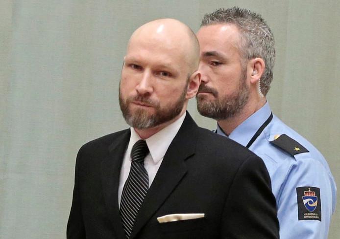 Anders Breivik EPA/LISE AASERUD NORWAY OUT