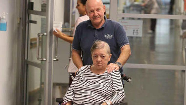 Marie Morreels kan na het ongeval niet zelfstandig meer leven.