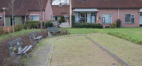 Tuin van Swaenewoerd in Raalte teruggebracht tot gras