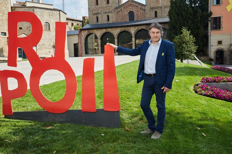 Burgemeester Jordi Munell Beeld Xavier Torres-Bacchetta
