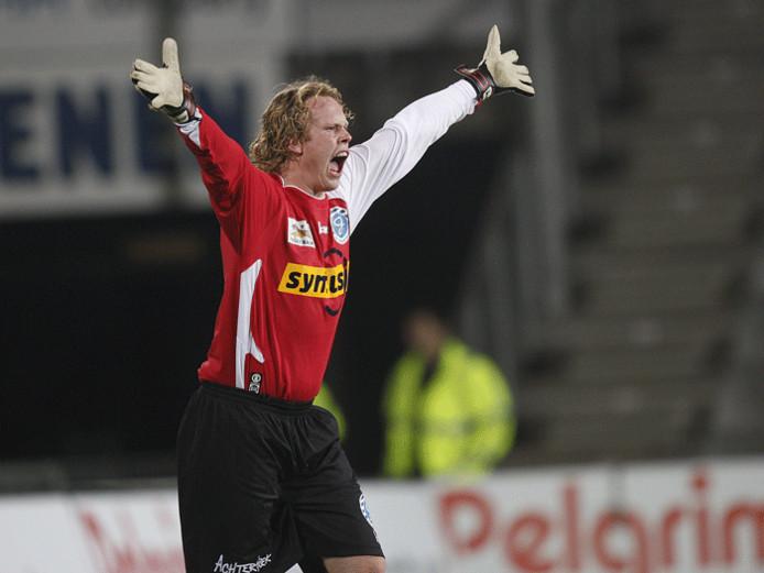 Graafschap doelman Jordy van der Kracht. Foto Theo Kock