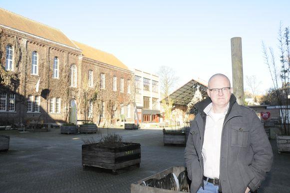 David Titeca op de Oud College site.