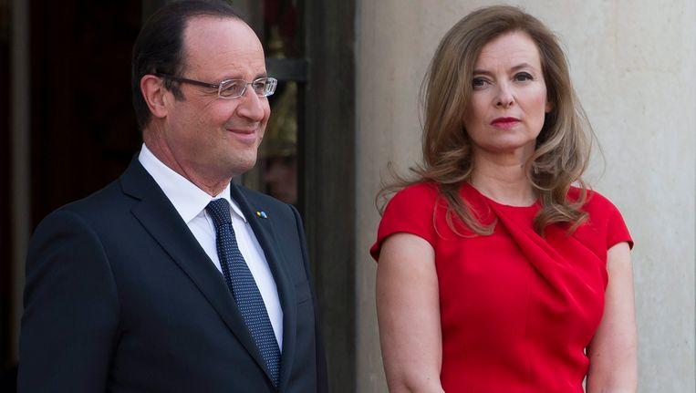 Hollande en Trierweiler in betere tijden Beeld EPA