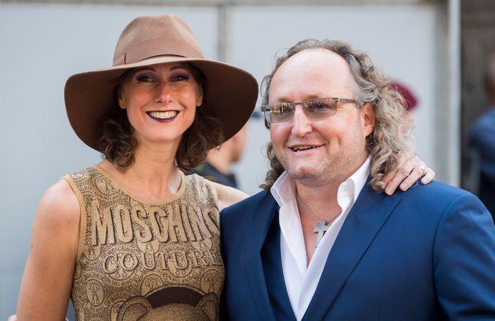 PVV-Kamerlid Dion Graus met ex-partner Joyce Schmeitz.