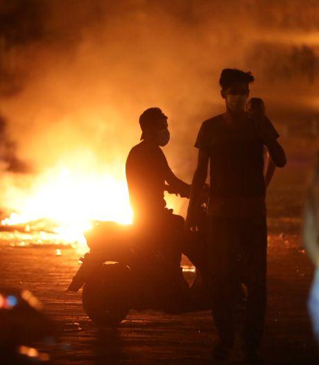 Gevechten in Beiroet tussen politie en betogers na explosie