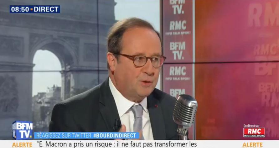 François Hollande était l'invité de Jean-Jacques Bourdin