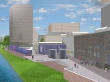 Zo ziet de nieuwe dijk voor het Waalfront in Nijmegen eruit