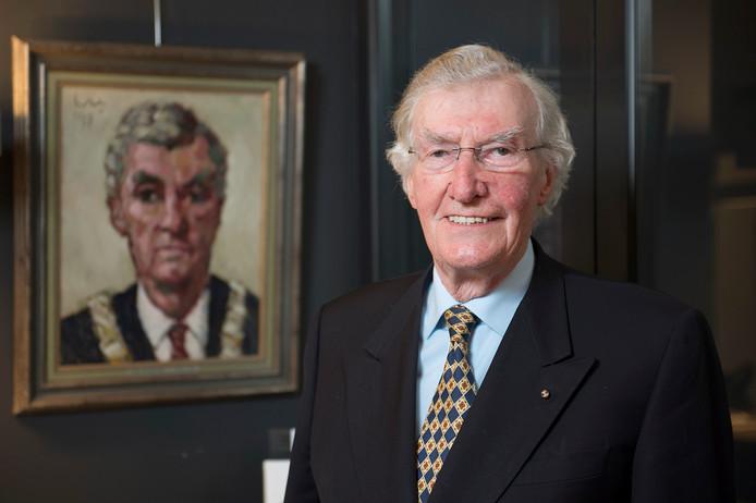 Oud-burgemeester Gerard Scholten van Schijndel zette zich enorm in voor kunst. <br />