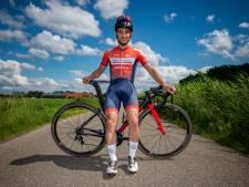 Dariush Cyrroes uit Axel is al 9 maanden met het NK wielrennen bezig