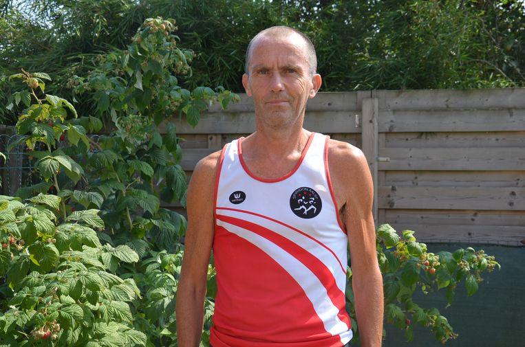 Jean-Paul Praet uit Denderleeuw loopt vandaag nog altijd.