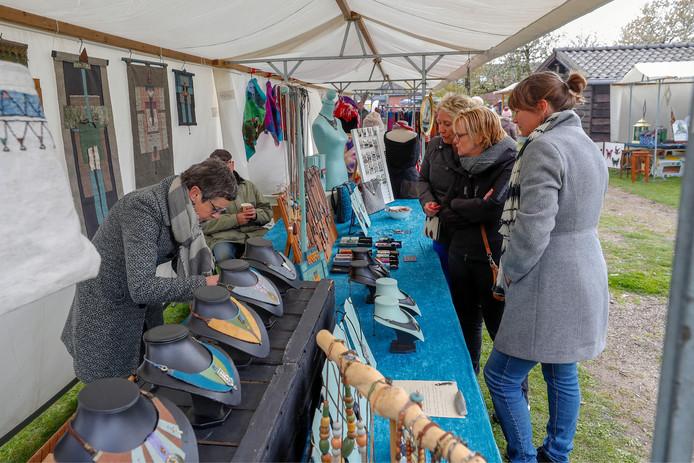 De kunstmarkt in Eersel.
