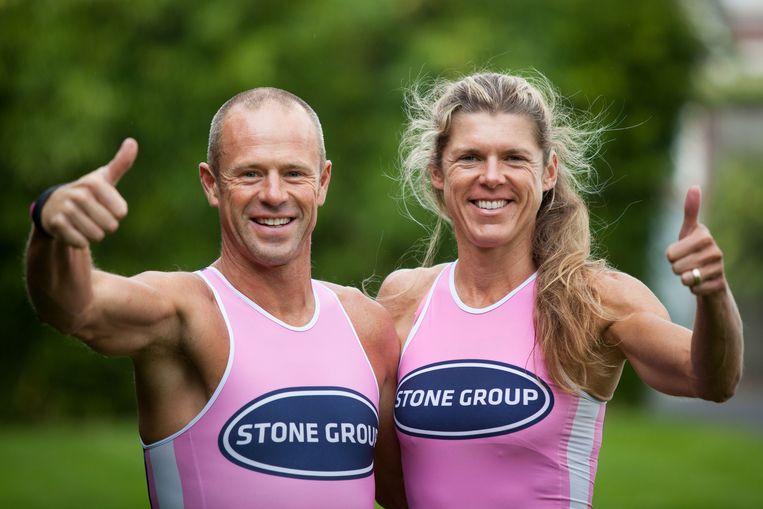 Sophie Van Biervliet en haar man Jan Stockman mogen beiden naar de Ironman in Hawaï.