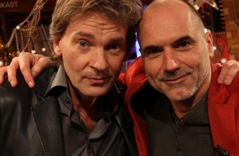 Matthijs van Nieuwkerk en Leo Blokhuis doen wederom de Top 2000 a gogo Beeld NTR