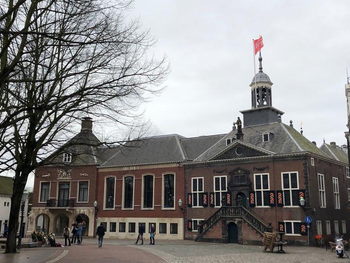 Het stadhuis in Vlaardingen.