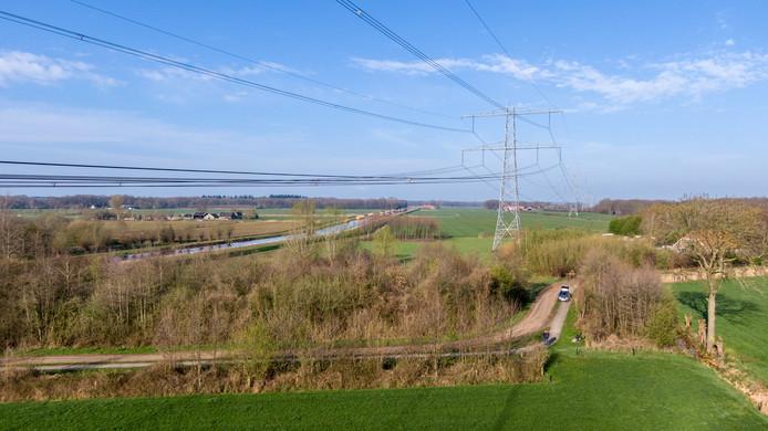 Dit bosje bij Hoonhorst is inzet geworden van een rechtszaak tussen elektriciteitstransporteur TenneT en de provincie Overijssel. De bomen moeten weg, maar vraag is wie verantwoordelijk is voor herplant.