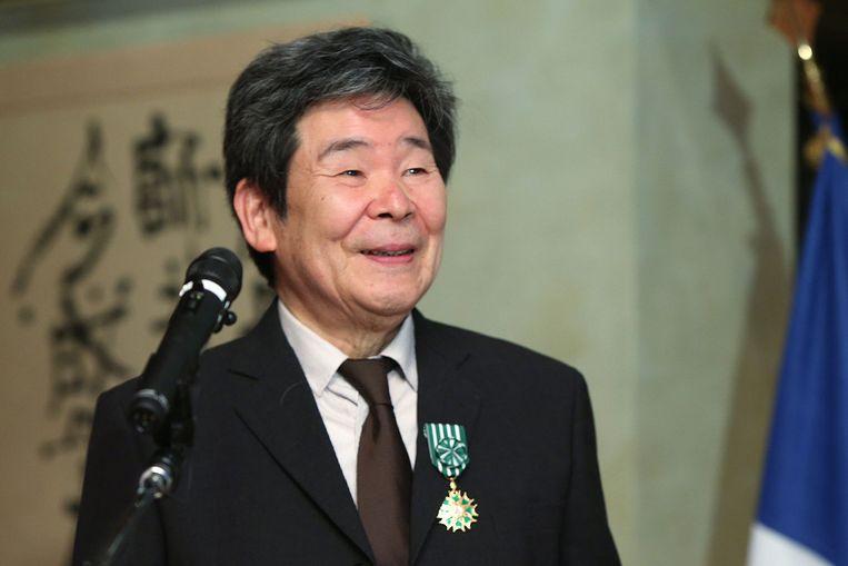 Isao Takahata in 2015. Beeld AFP