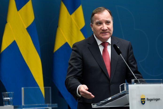 Premier Stefan Lofven.