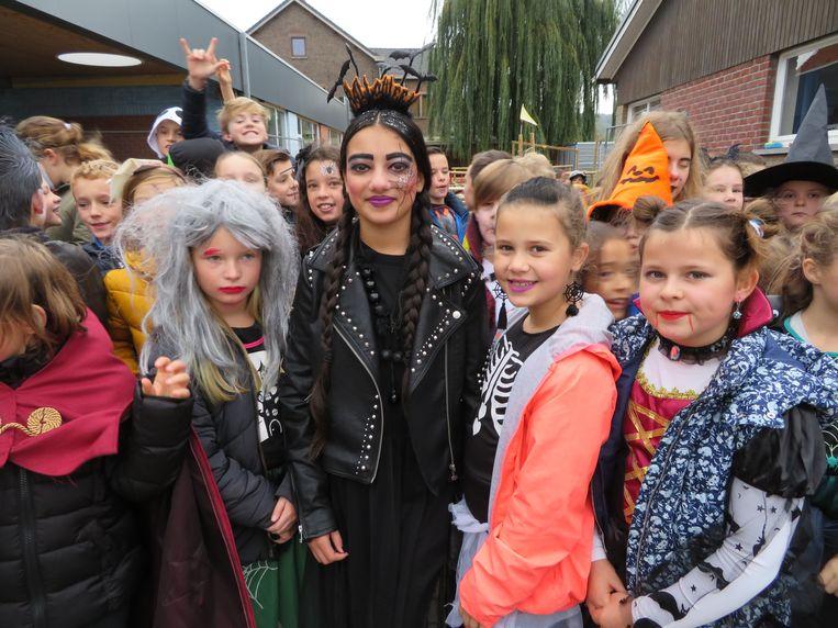 Halloween op basisschool VBS Ruien.