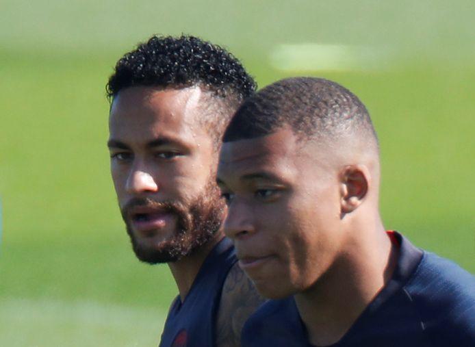 Neymar en Mbappé