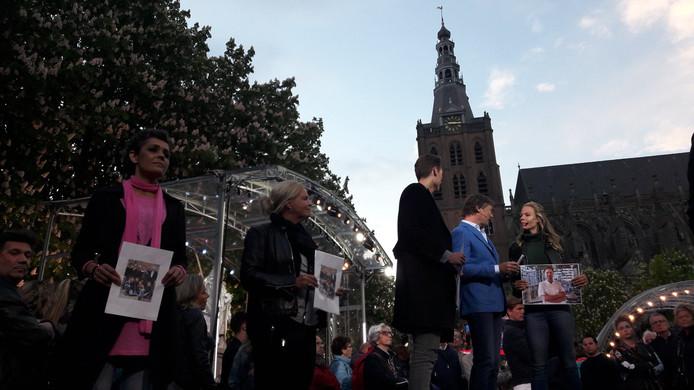 Nicolette Kluijver op de Parade in Den Bosch